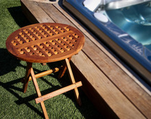 Teak Deck Table