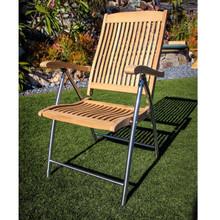 Windrift Teak Folding Chair with Stainless Steel Legs