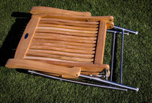Windrift Folding Teak Deck Armchair