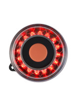 Portable All-round RED Navigation light with Navimount base,
