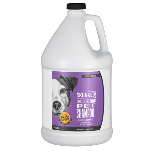 SKUNKED! Deodorizing Pet Shampoo Gallon