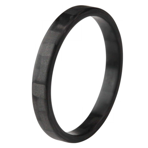 Atomity Extra Small Carbon Fiber Wedding Band