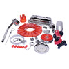 Empi 8653 Red Deluxe Engine Trim Kit - Volkswagen Bugs Ghia Early Vw Bus