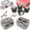 Vw Bug Engine Kit Hi Performance 1776cc With Racing Cylinder Heads Top End Only, Mahle Pistons