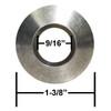 Empi 10-1035 Aluminum Wheel Washer, Flat Surface To 60 Degree Lug Taper, 5 Pack