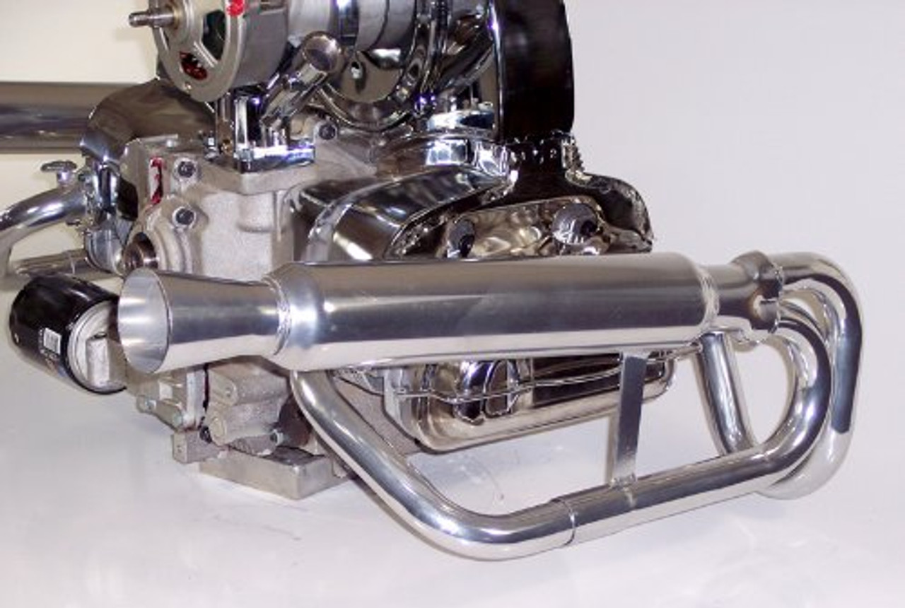 Empi 3373 Black Buggy Dual Exhaust System Vw Baja Bug Manx Buggy Vw Trike