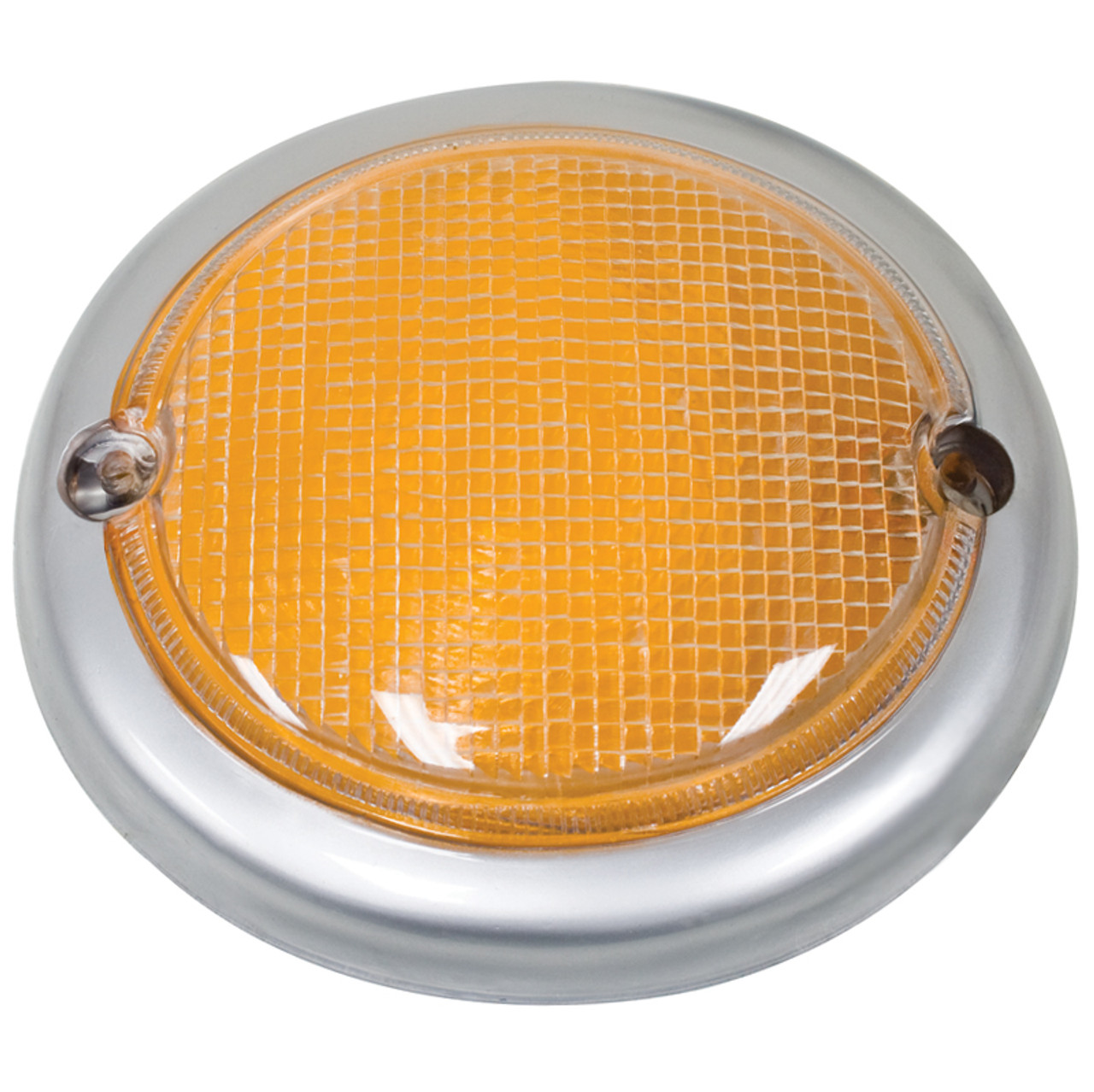 TURN SIGNAL LENS LEFT /& RIGHT SIDE AMBER FITS VOLKSWAGEN TYPE2 BUS 1973-1979
