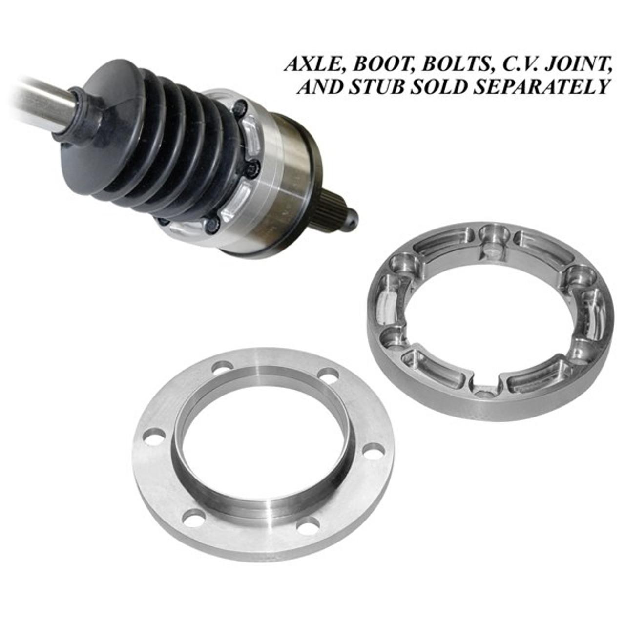 Empi 86-9312 Aluminum Boot Retainer & Cv Joint Flange For Porsche 930 Cv  Joints