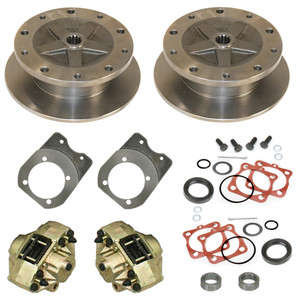 Empi 22-2929-F Vw Bug Rear Disc Brake Kit 1968-1979, 5 Lug Vw Pattern