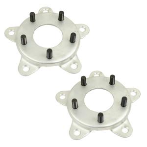Empi 9499 Wheel Adapter 5 Lug VW Bug Drum To 5 Lug Porsche Wheel, Pair