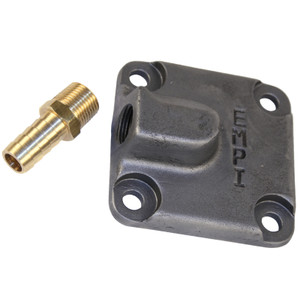 Empi 31-2940 Vw Cast Iron Oil Pump Cover With Full Flow Fitting & Gasket