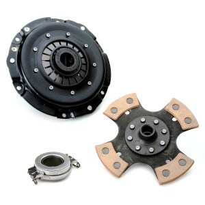 """Kennedy 8"""" Clutch Kit 2600Lbs Stage-3 4 Puck Disc T.O. Bearing Vw 1971-On"""