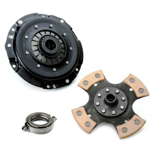 """Kennedy 8"""" Clutch Kit 2100Lbs Stage-2 4 Puck Disc T.O. Bearing Vw To 1970"""