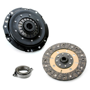 """Kennedy 8"""" Clutch Kit 2600Lbs Stage-3 Kush Disc T.O. Bearing Vw To 1970"""