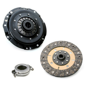 """Kennedy 8"""" Clutch Kit 3000Lbs Stage-4 Kush Disc T.O. Bearing Vw 1971-On"""