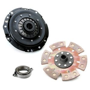 """Kennedy 8"""" Clutch Kit 3000Lbs Stage-4 6 Puck Disc T.O. Bearing Vw To 1970"""