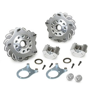 Jamar Performance Front Disc Brake Kit For King Pin Front Spindles