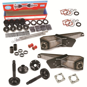 Vw Baja Bug 3X3 Rear Suspension Kit With Trailing Arms