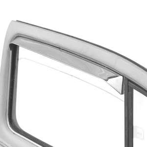 Empi 9741 Stainless Steel Vent Shades, Vw Type 1 Bug 1953-64, Pair