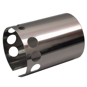 Empi 9036 Stainless Steel Generator Cover For Air-cooled Upright Vw Engines.