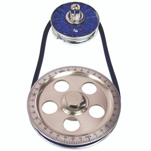 Empi 8651 Air-cooled Vw Bug & Vw Bus Standard Size Blue Pulley Kit W/Blue Cover
