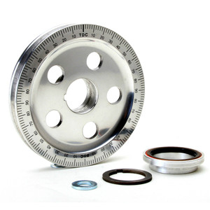 Empi 8693 Vw Aluminum Crankshaft Power Pulley Kit, Bolt-In Sand-Seal