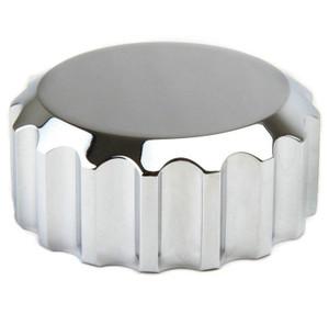 Empi 8899 Billet Aluminum Grooved Oil Filler Cap F/Empi Aluminum Vw Oil Filler