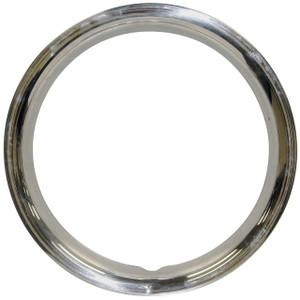 "Empi 10-1069 Stainless Steel Beauty Rings For 15"" O.E. Steel Wheels, Set Of 4"
