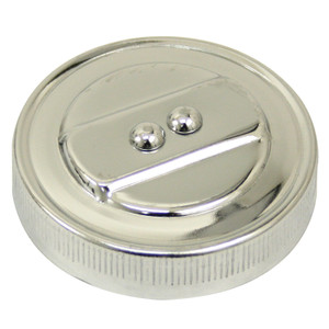 Empi 8968 Chrome Stock Oil Cap Fits Air-cooled Vw Bug Ghia Thing Bus Engines