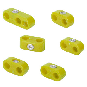 Empi 8750 Yellow Spark Plug Wire Separators For Vw Air-cooled Engines