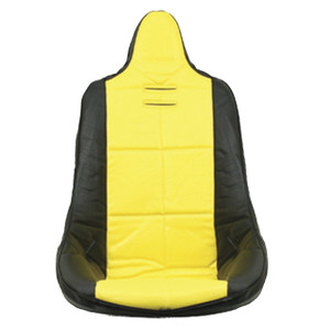 Empi 62-2350 Yellow Vinyl High Back Poly Seat Cover
