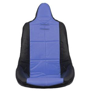Empi 62-2352 Blue Vinyl High Back Poly Seat Cover