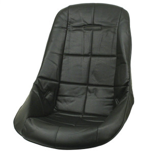 Empi 62-2408 Black Vinyl Low Back Poly Seat Cover