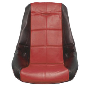 Empi 62-2410 Red Vinyl Low Back Poly Seat Cover