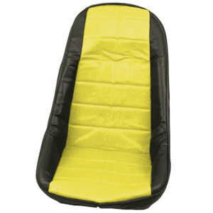 Empi 62-2610 Yellow Vinyl Low Back Bucket Seat Cover