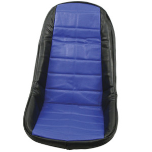 Empi 62-2612 Blue Vinyl Low Back Bucket Seat Cover