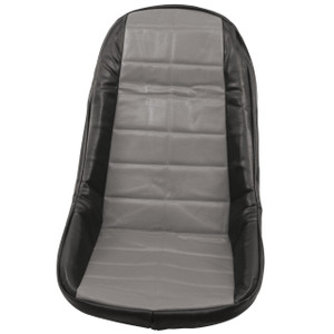 Empi 62-2613 Grey Vinyl Low Back Bucket Seat Cover