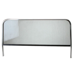 """43-3/4"""" Vw Manx Dune Buggy Windshield With Glass And Rubber Seal"""