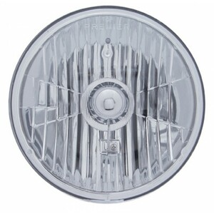 "Halogen Crystal Headlight Bulb 7"" Round 65/55W"