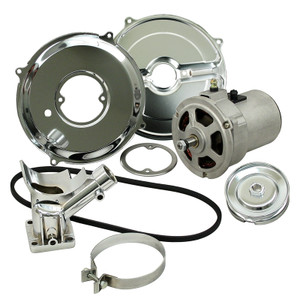 Empi 9450 Alternator Kit With Pulley & Belt 12 Volt 55 Amp For Air-Cooled Volkswagen
