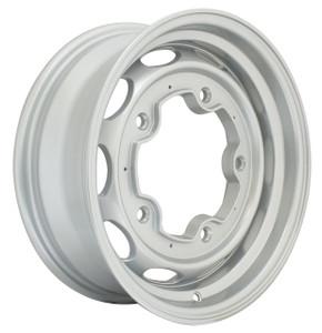 "Empi 10-1171 Vintage 190 Silver Aluminum Vw Wheel, 5X205 15""X5.5"" Wide"