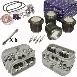Vw Bug Engine Kit Hi Performance 1776cc With Racing Cylinder Heads Top End Only