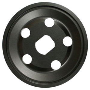 Empi 18-1082 Billet Generator/Alternator Vw Pulley Half, Black