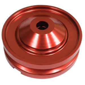 Empi 18-1081 Red Anodized Billet Generator/Alternator Pulley Air-cooled Vw