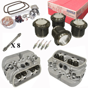 Vw Bug Engine Kit Hi Performance 1835cc With Racing Cylinder Heads Top End Only, Mahle Pistons