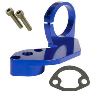 Empi 18-1089 Blue Anodized Vw Fuel Pump Block Off With Coil Mount