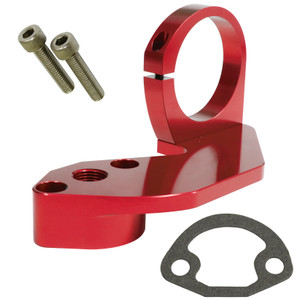 Empi 18-1090 Red Anodized Vw Fuel Pump Block Off With Coil Mount