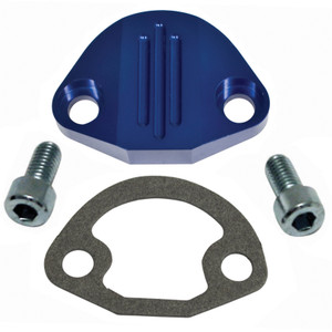 Vw Manual Fuel Pump Block Off Plate, Aluminum