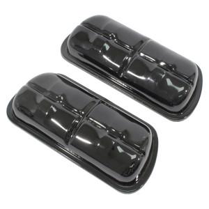 Empi 98-9196-B Stock Black Valve Covers For Vw Bug Ghia Bus, Pair