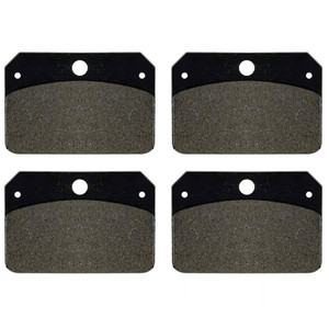 Jamar Performance USA Disc Brake Pads For 4 Piston Calipers, Set Of 4